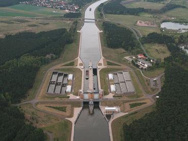 Doppelsparschleuse Hohenwarthe � www.AIRlebnistrip.de